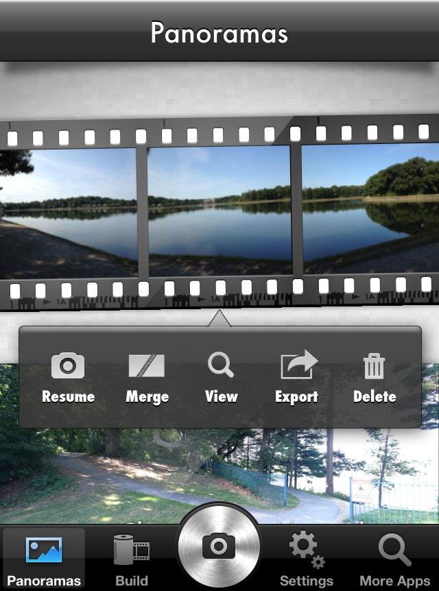 Panorama | Create beautiful high-resolution panoramas | iOS